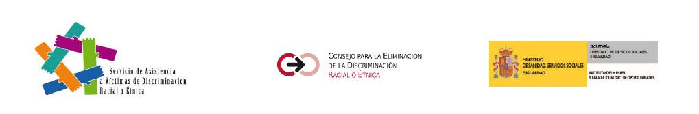 servicio asistencia a victimas por discriminacion