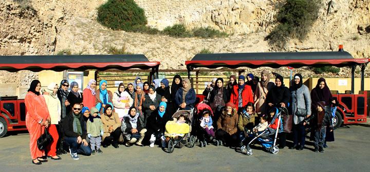 visita-templo-del-sol-Cepaim-Lorca-Finaliza-Curso-de-Espanol-Mujeres