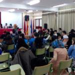 Encuentro-grupo-mujeres-estudiantes-musulmanes-y-escritora-persa-nazanin-en-cartagena