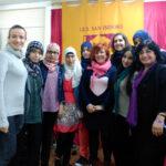 Encuentro-grupo-mujeres-estudiantes-musulmanes-y-escritora-persa-nazanin-en-cartagena-2