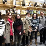 visita a soria comision huerto social molina aragon cepaim