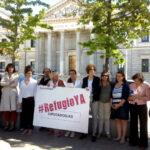 #RefugioYA-acto-Madrid-Congreso-de-los-Diputados-11-Medidas-urgentes-26J