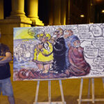 refugiArte-Chipola-caricatura-satira-Cepaim-Murcia-Acto-Plaza-Merced-3