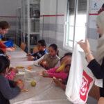 Desayuno-menores-Fundacion-Cepaim-Lepe-la-Caixa