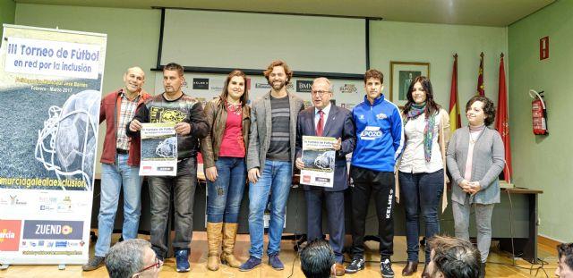 presentacion iii torneo inclusion social futbol cepaim murcia