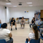 Fundacion-Cepaim-en-Zaragoza-taller-defensa-personal-Programa-Adelante