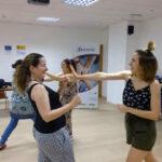 Taller-Defensa-Personal-Fundacion-Cepaim-en-Zaragoza-Programa-Adelante