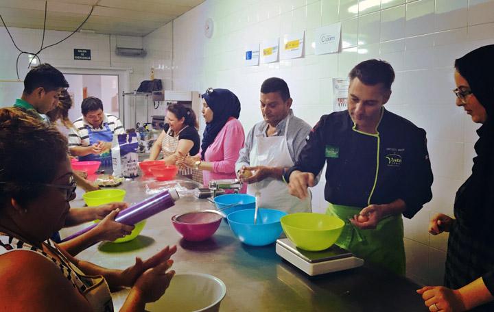 Clausura del curso hosteler a rural cocina tradicional - Curso de cocina murcia ...